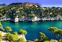 "The ""Calanques"" between Cassis und Marseilles"